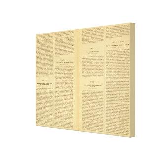 Historical Atlas 3 Canvas Print