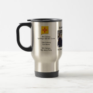 historical Buffalo Soldier ocassion Stainless Steel Travel Mug