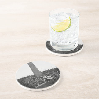 Historical Bunker Hill Monument Photograph Drink Coasters