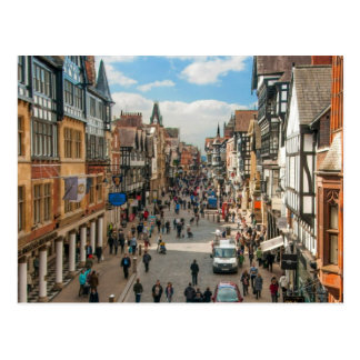 Historical City of Chester England United Kingdom Postcard