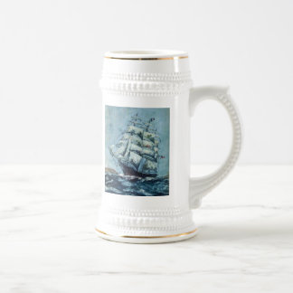 Historical Clipper Ship Western Shore Beer Steins