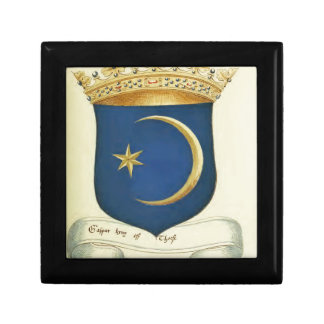 Historical coat of arms gift box