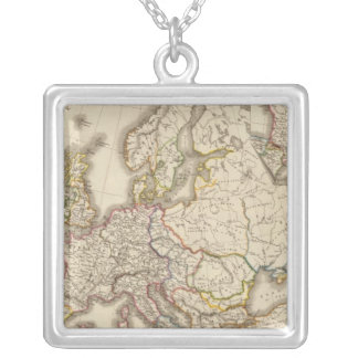 Historical Europe Silver Plated Necklace