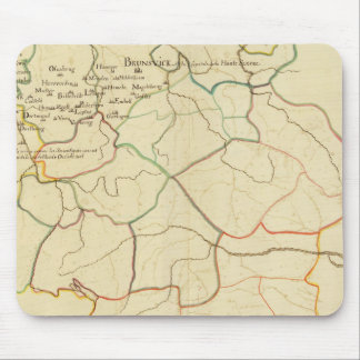 Historical Germany and Austria Mouse Mat