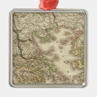 Historical Greece, Paris atlas map Christmas Ornament