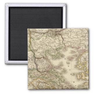 Historical Greece, Paris atlas map Magnet