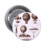 Historical Hot Air Balloon Designs Pins