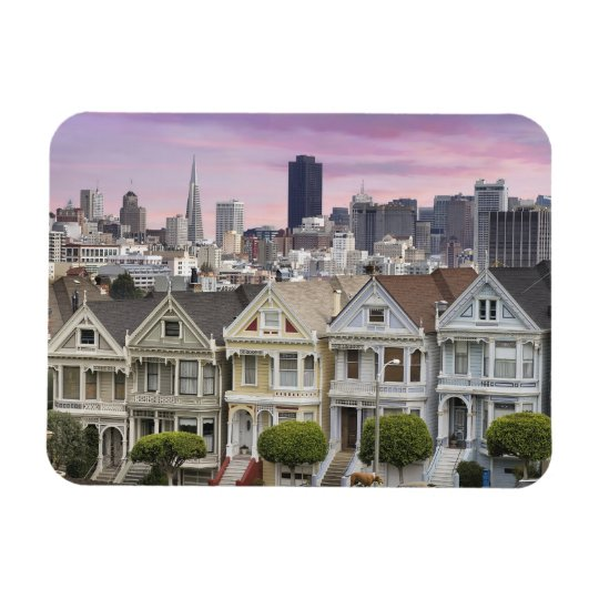 Historical Houses and San Francisco City Magnet