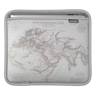 Historical Map of the Known World iPad Sleeve