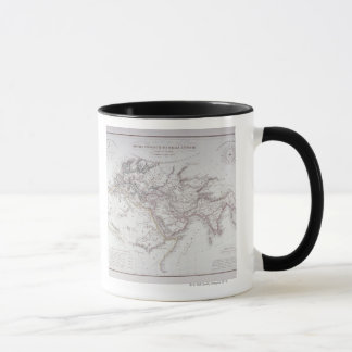Historical Map of the Known World Mug