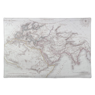 Historical Map of the Known World Placemat