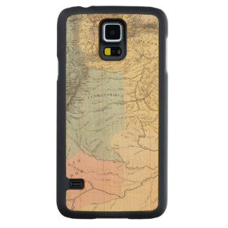 Historical Military Maps of Venezuela Carved Maple Galaxy S5 Case