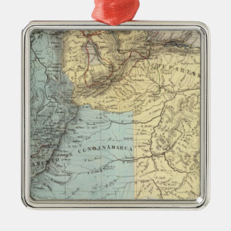 Historical Military Maps of Venezuela Christmas Ornament