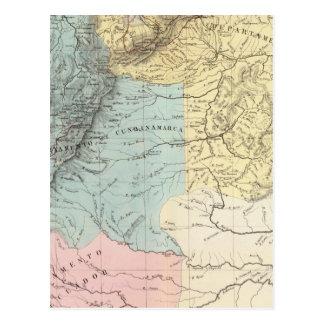 Historical Military Maps of Venezuela Postcard