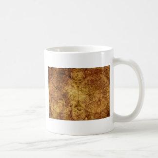 Historical Old Antique World Map Coffee Mug
