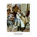 Historical Scenes Detail By Giovanni Tiepolo Post Cards
