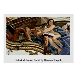 Historical Scenes Detail By Giovanni Tiepolo Posters