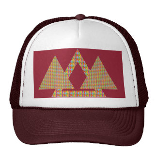 """Historical Style PYRAMID Adjustable from 17"""" to 24 Trucker Hat"""
