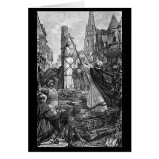 Historical Women - Joan of Arc Card