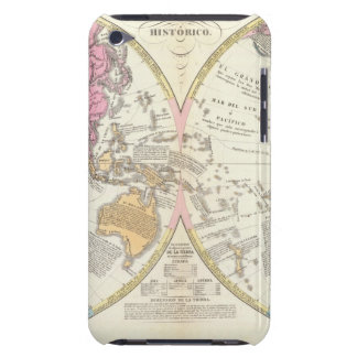 Historical World Map 3 iPod Case-Mate Cases