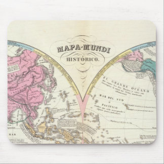 Historical World Map 3 Mouse Pad