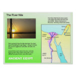 History, Ancient Egypt, River Nile Poster