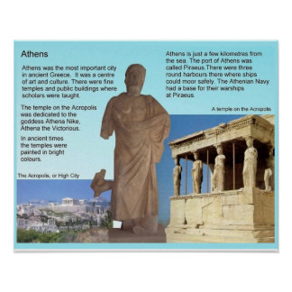 History, ancient Greece, Athens Poster