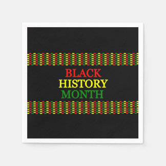 History Band BHM Party Paper Napkins