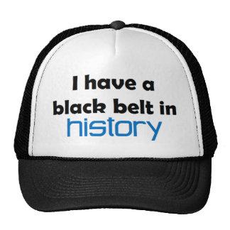 History black belt cap