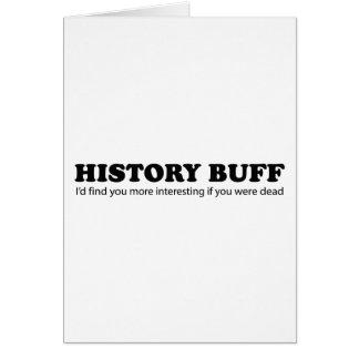 History Buff Card