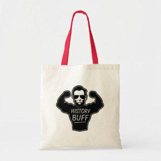 History buff funny bag