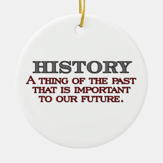 History Christmas Ornament