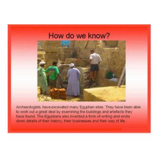 History Evidence Archaeology Postcards