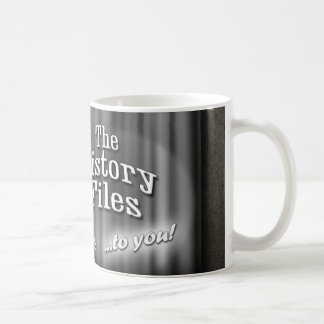 History Files vintage movie trailer mug