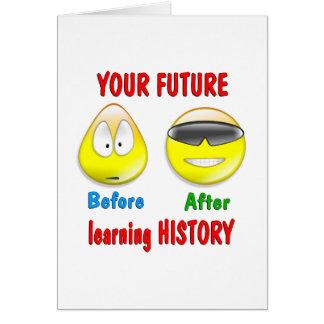 History Future Card