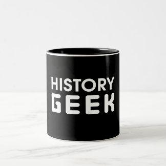 History Geek Two-Tone Mug