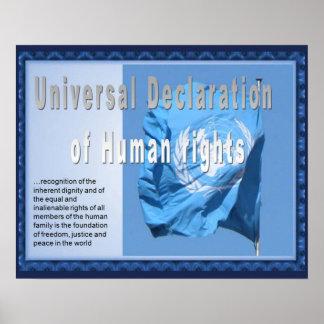 History, HUman rights, Declaration Poster