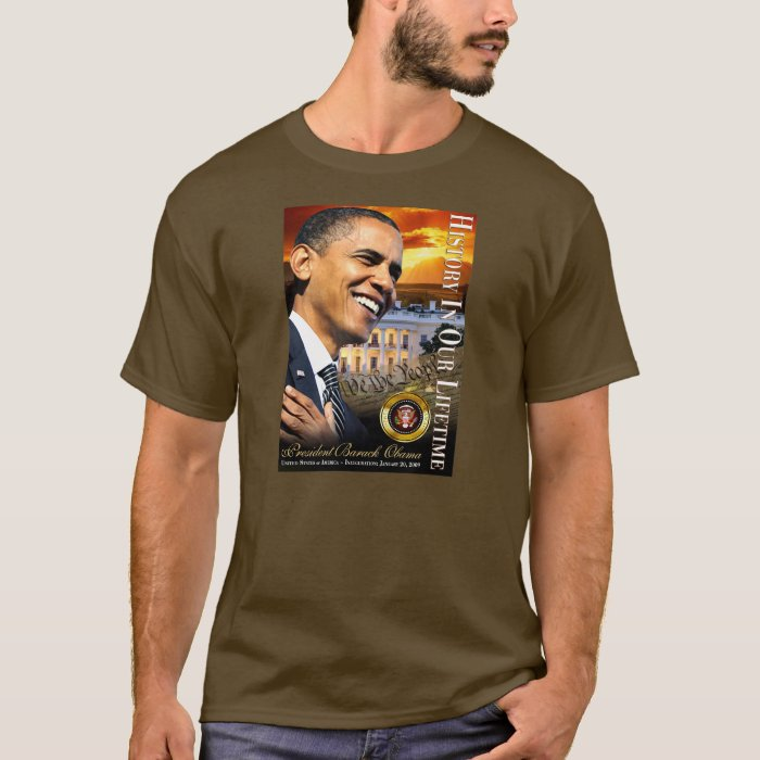 History In Our Lifetime (sunset white house) T-Shirt