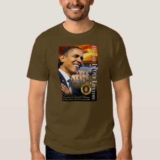 History In Our Lifetime (sunset white house) Tee Shirts