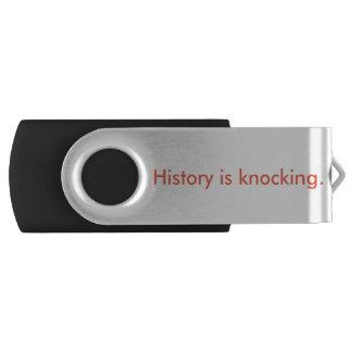 History is Knocking USB Drive
