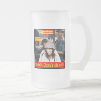 HISTORY LESSON FOR YOUNG AMERICANS FROSTED GLASS MUG