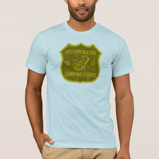 History Major Drinking League T-Shirt