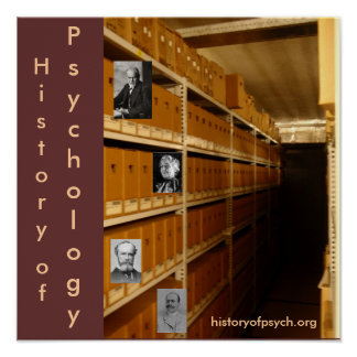 History of Psychology Poster Archive Edition