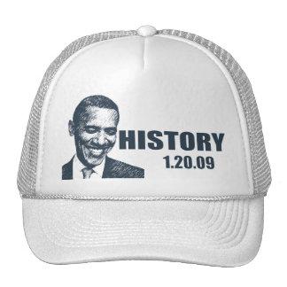 HISTORY - President Obama Inauguration Mesh Hat
