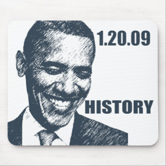 HISTORY - President Obama Inauguration Mouse Pads