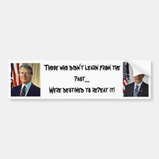 history repeated bumper sticker