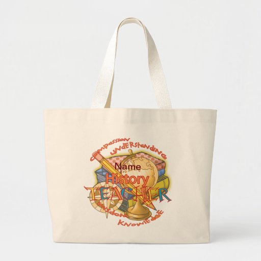 History Teacher Tote Bags