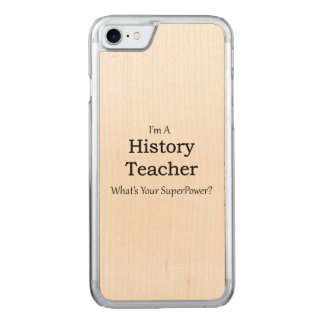 History Teacher Carved iPhone 8/7 Case