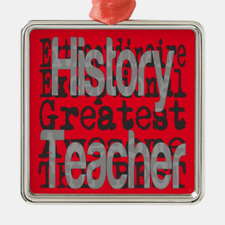 History Teacher Extraordinaire Christmas Ornament