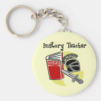 History Teacher Gifts Key Ring